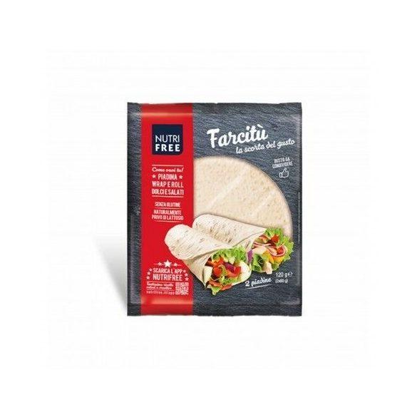 Nutri Free Farcitú tortilla lap 120 g