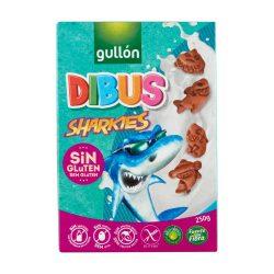 Gullón Dibus (Shark) gluténmentes reggeliző keksz (cápa)  250g