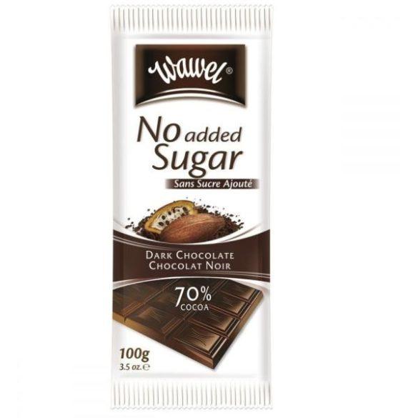 Wawel Étcsokoládé 70% kakaótartalommal hozzáadott cukor nélkül 100 g