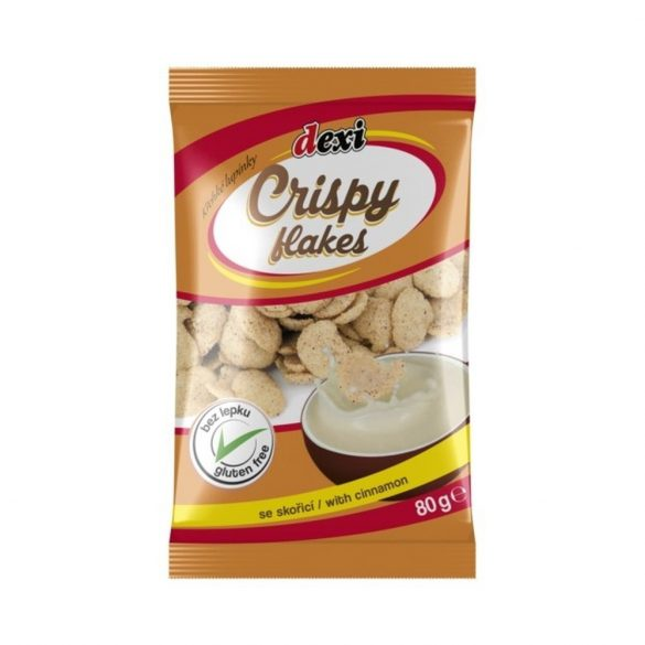 Dexi Crispy flakes fahéjas pehely 80 g