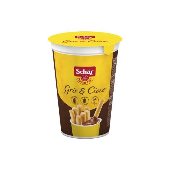 Schär Gris&Ciocc Grissini mogyorókrémmel 52 g