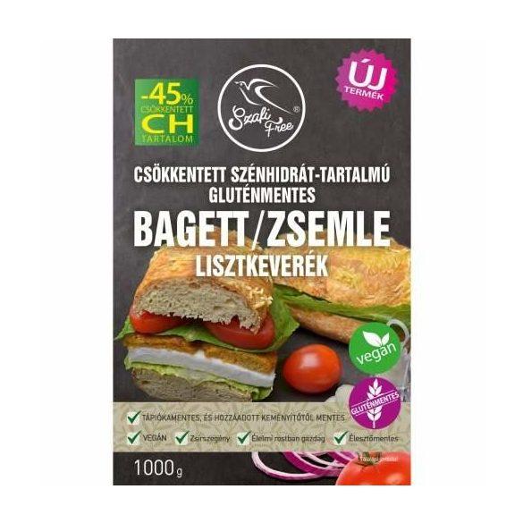 Szafi Free csökkentett szénhidrát-tartalmú bagett/zsemle lisztkeverék 1000g
