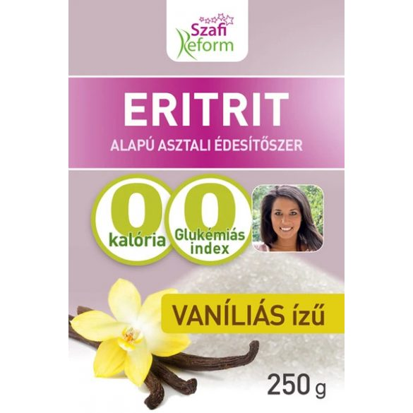 Szafi Reform Vaníliás ízű eritrit 250 g