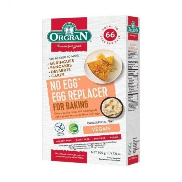 Orgran Univerzális kukoricamentes tojáshelyettesítő por 200 g