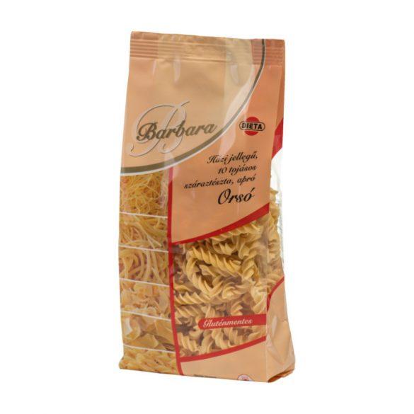 Barbara gluténmentes orsó tészta 200 g