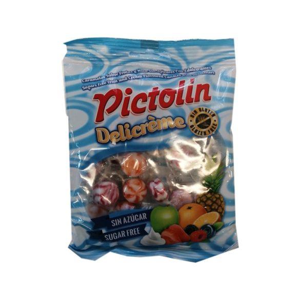Pictolin Delisuit cukormentes cukorka gyümölcsös 65 g
