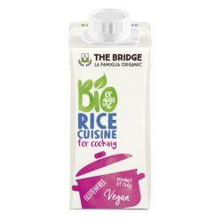 The Bridge bio rizs tejszín 200 ml