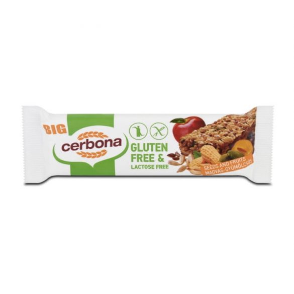 Cerbona Magvas gyümölcsös szelet 35 g