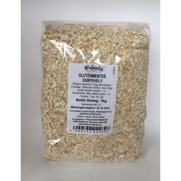 Paleolit Gluténmentes Zabpehely, 500 g