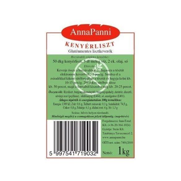 AnnaPanni gluténmentes kenyérliszt 1 kg