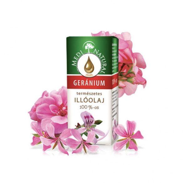 MediNatural Geránium illóolaj 100% 10 ml