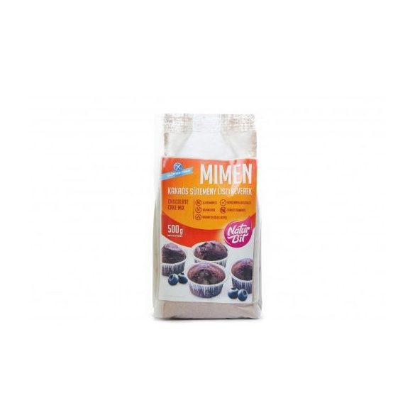 MIMEN gluténmentes kakaós süteménypor 500g   (OÉTI:K/61/2014)