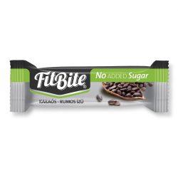 Fitbite Kakaós rumos ízű szelet étcsokoládéba (20%) mártva, édesítőszerekkel 28g