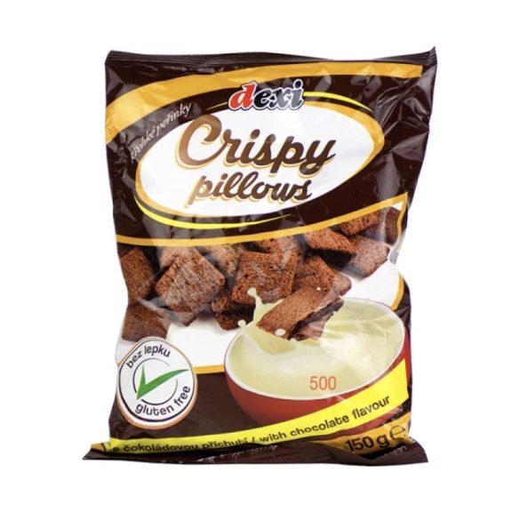Dexi gluténmentes crispy párnák csokoládé, 150 g