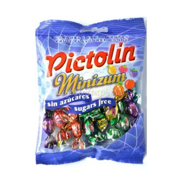 Pictolin Minizum cukormentes cukorka gyümölcsös 65 g