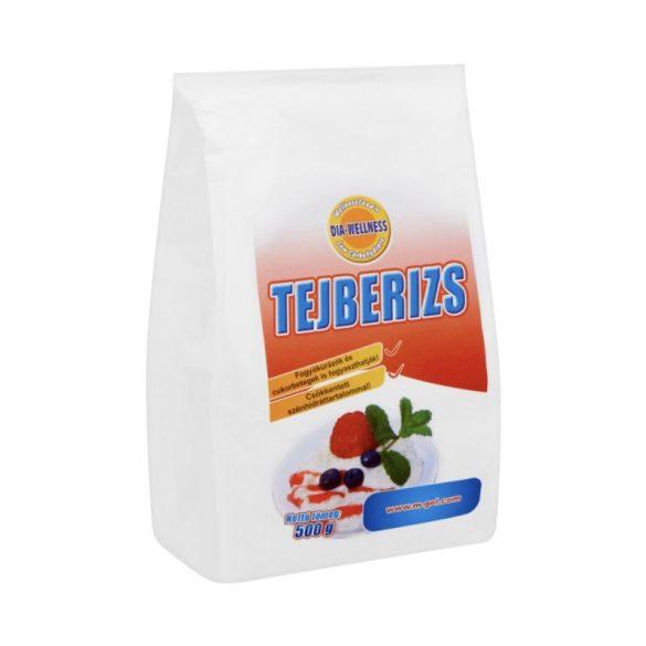 Dia-Wellness Tejberizs alap 500 g