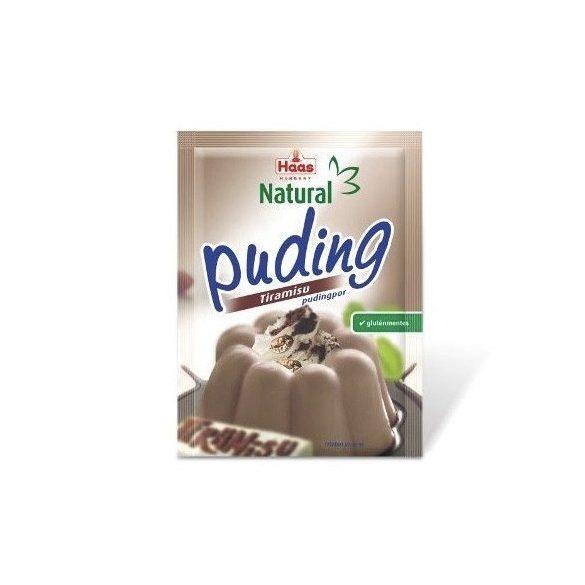 Haas Natural Tiramisu puding 40 g