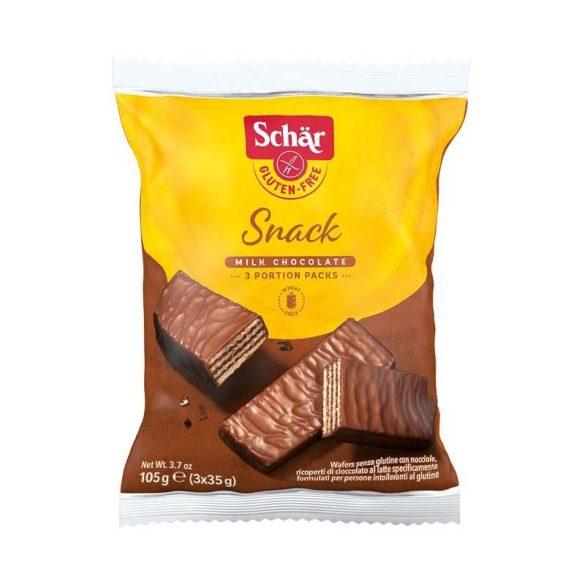 Schär Snack csokoládéval bevont mogyorós ostya 105 g