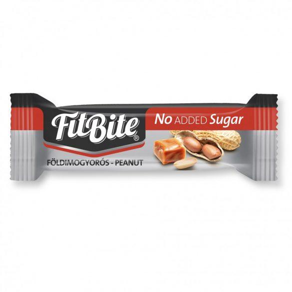 FitBite Karamellás-földimogyorós szelet édesítőszerrel 28 g