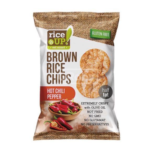Rice Up gluténmentes Chips Chili Ízű 60 g