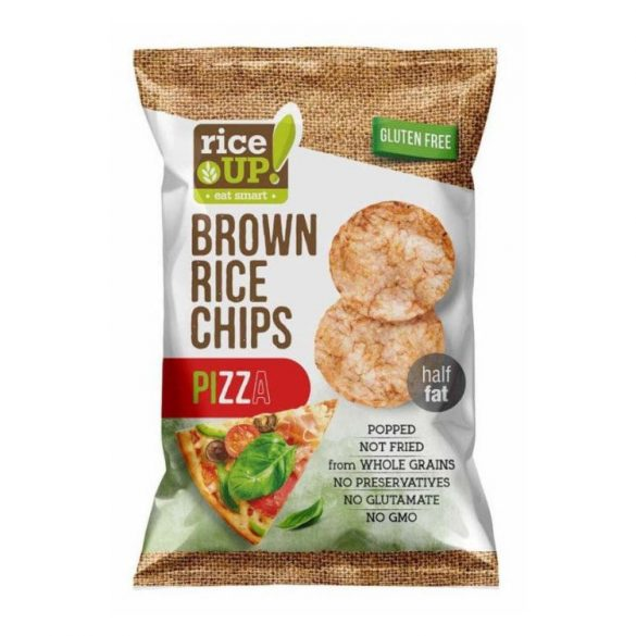 Rice Up Chips pizzás 60 g