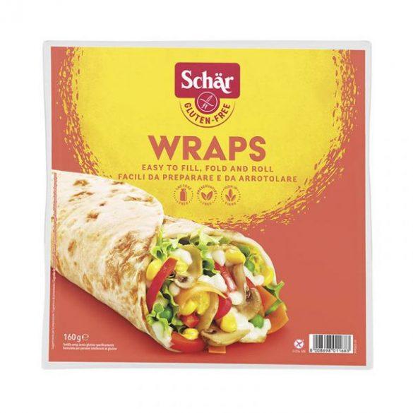 Schär Wraps tortillalap 160 g