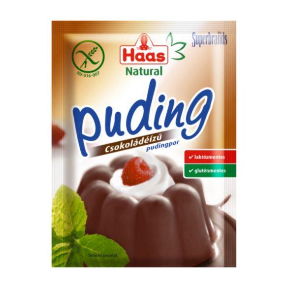 Haas Natural Csokoládé puding 40 g