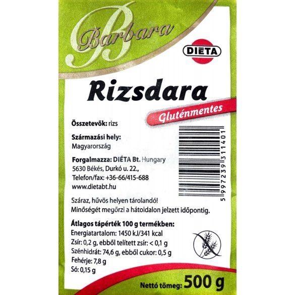Barbara Rizsdara 500 g