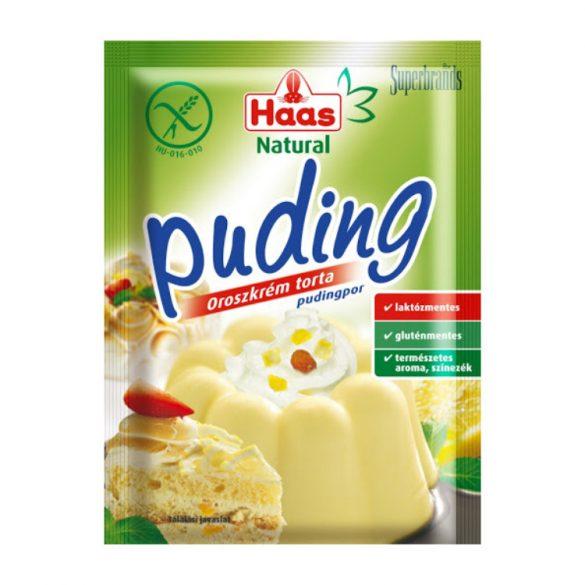 Haas Oroszkrém torta Pudingpor 40g
