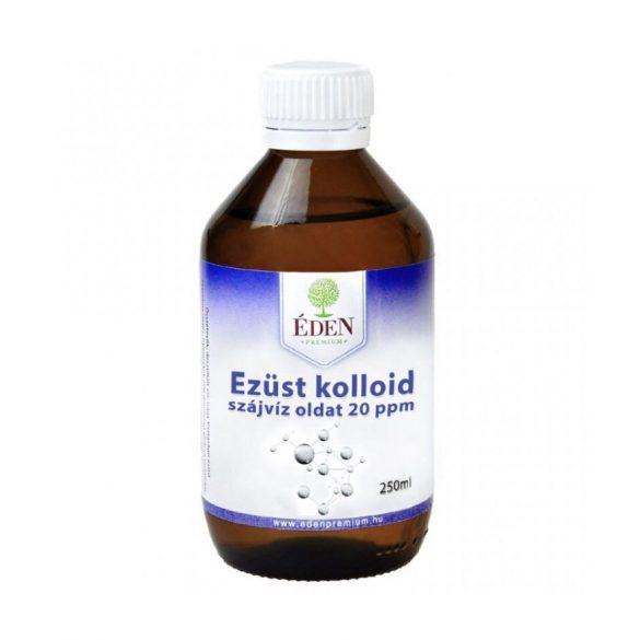 Éden Prémium Ezüst kolloid szájvízoldat 250 ml