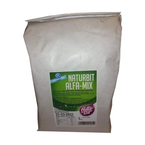 Naturbit Alfa-Mix lisztkeverék 5 kg