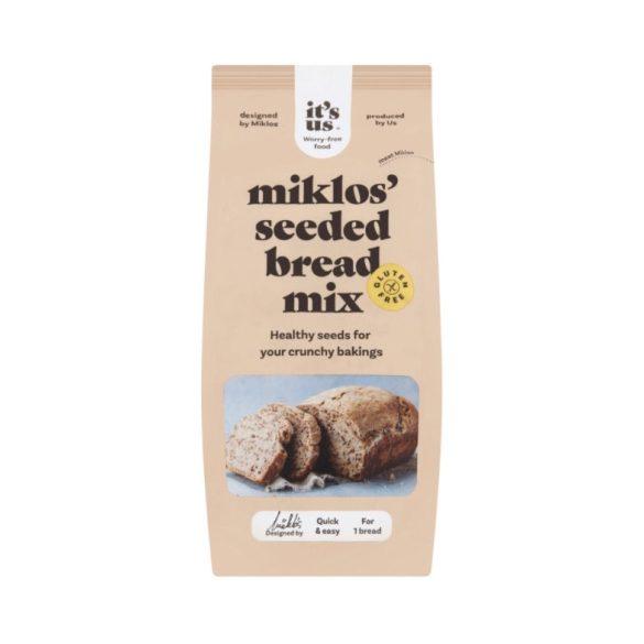 Glutenix sokmagvas kenyér lisztkeverék 500g