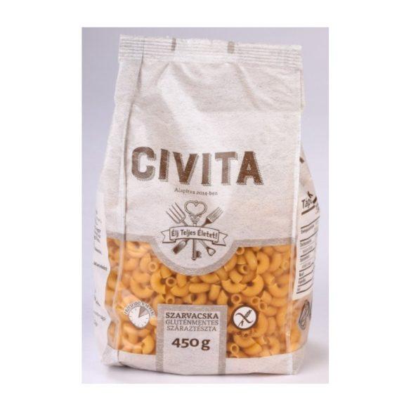 Civita gluténmentes Szarvacska tészta 450g