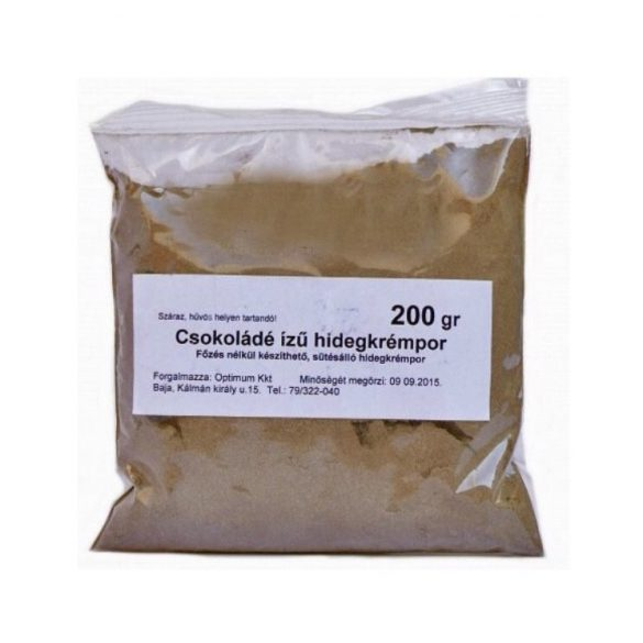 Mester Csokoládés sütésálló hideg krémpor 200 g