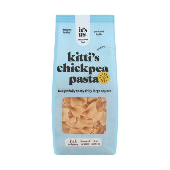 It's us Kitty's Chickpea pasta Csicseriborsó fodros nagy kocka 250 g