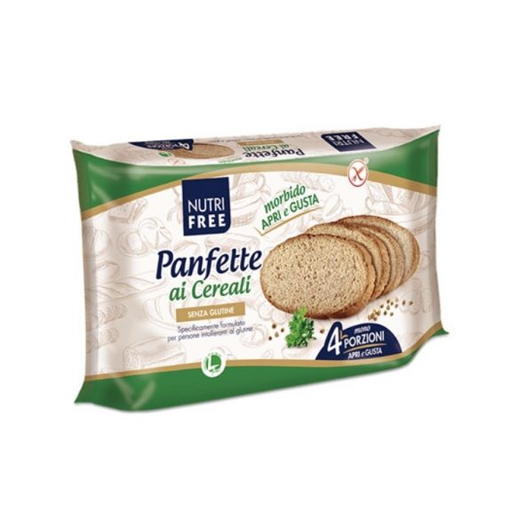 Nutri free Panfette Rustico Multicereale 320 g