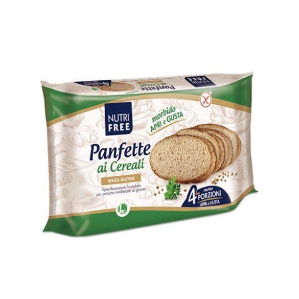 Nutri Free Panfette Rustico Multicereale szeletelt barna kenyér 320 g