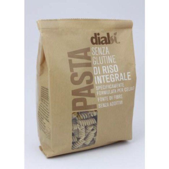 Dialsí Fusilli tészta barna rizslisztből 400 g