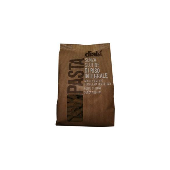 Dialsí Penne tészta barna rizslisztből 400 g
