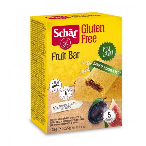 Schar Fruit Bar gluténmentes gyümölcsös szelet fügével,szilvával 125 g