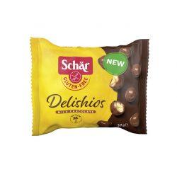 Schar Delishios gluténmentes gabonagolyók tejcsokoládé bevonattal 37 g