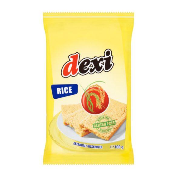Dexi gluténmentes extrudált rizskenyér 100 g