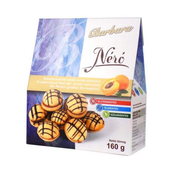Barbara Néró sütemény 160 g
