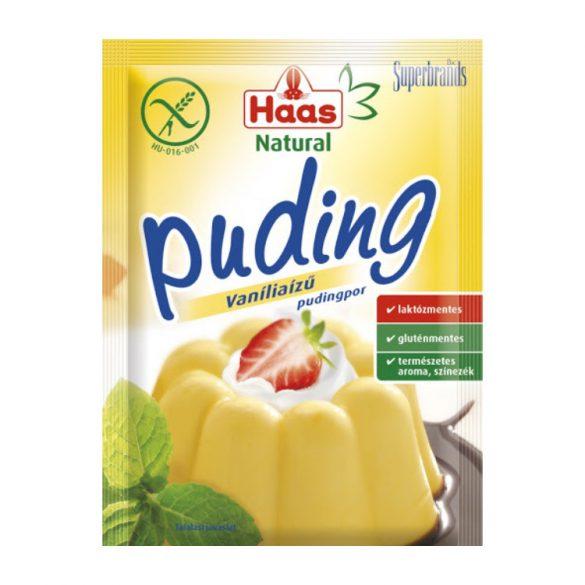 Haas Natural Vanília puding 40 g