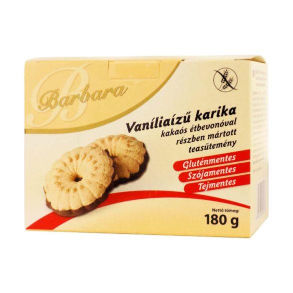 Barbara Vaniliás karika étbevonó talppal 180 g